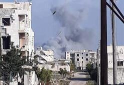 Son dakika... AA: Rus uçakları, ÖSO cephe hatlarını vurdu