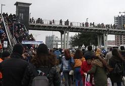 Son günde vatandaşlar akın etti, kilometrelerce kuyruk oluştu