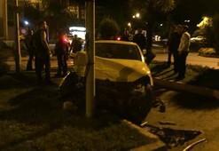 Zonguldak'ta 2 araç çarpıştı; 1i ağır 7 yaralı