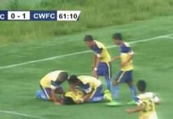 Gol sevinci sırasında hayatını kaybetti
