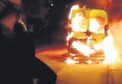 Öfkeli sevgili araç yaktı, PKK 'Biz yaptık' dedi