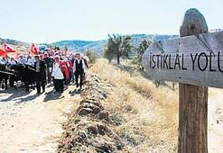 Kurtuluş Savaşı'nın umut yolu 'milli park' oldu