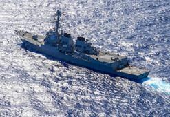 Beklenen oldu, ABD savaş gemisi tansiyonu yükseltti