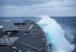 ABD savaş gemisi tehlikeli sulara açıldı