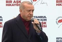 Cumhurbaşkanı Erdoğan: Haçlı bozuntularına sesleniyorum, başaramayacaksınız