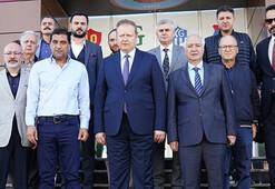Vali Yücel Yavuz, Trabzonspora veda etti