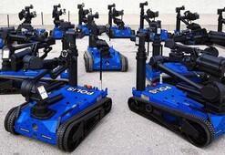 100 adet Ertuğrul robotu Emniyete teslim edildi