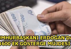 Memura 3600 ek gösterge zammı tarihi belli oldu mu Cumhurbaşkanı Erdoğandan açıklama