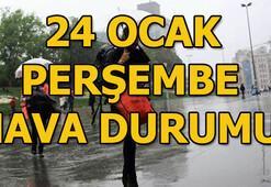 24 Ocak Perşembe hava durumu İstanbul ve Ankarada hava nasıl