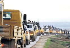 ÖSO sınır hattına doğru ilerliyor