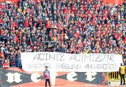 Eskişehir'de Ankaragücü taraftarları anıldı