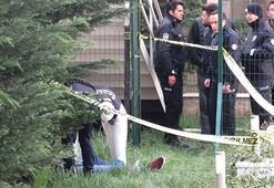 Ümraniyede site bahçesinde erkek cesedi bulundu