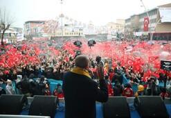 Cumhurbaşkanı Erdoğan: Mertçe karşımıza çıkmadıkları için...