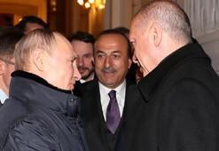 Putinden Cumhurbaşkanı Erdoğana sıcak uğurlama