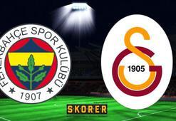 Fenerbahçe - Galatasaray: 1-1