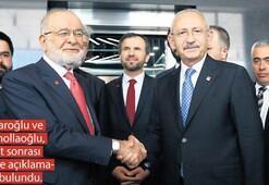 Kılıçdaroğlu'na SP ve HDP'den ziyaret