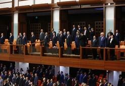 Son dakika... Cumhurbaşkanı Erdoğan HDPli isim kürsüye çıkınca Meclisten ayrıldı