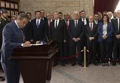 CHPli belediye başkanları Anıtkabiri ziyaret etti