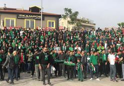 Taraftarlar Denizlispor'u yalnız bırakmadı
