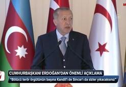 Cumhurbaşkanı Erdoğan: Kandili de Sincarı da sizler yıkacaksınız