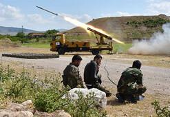 ÖSOdan rejim güçleri ve YPG/PKKnın saldırılarına misilleme