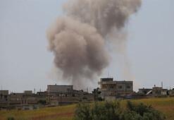 Rejim güçleri İdlib Gerginliği Azaltma Bölgesine geniş çaplı saldırılarını sürdürüyor