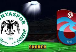 Atiker Konyaspor-Trabzonspor: 2-2
