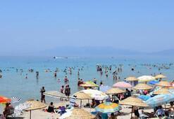 Bayram tatili için Egedeki doluluk oranları yüzde 90ı buldu