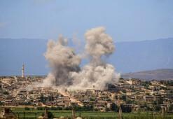 Esed İdlibde yine saldırdı: 12 ölü