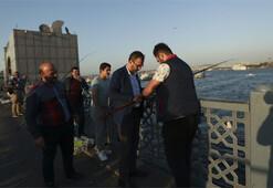 Bakan Kasapoğlunun İstanbulda balık tutma keyfi