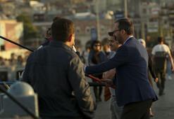 Bakan Kasapoğlu, Galata Köprüsünde balık tuttu