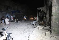 Rejim İdlibde yine vurdu