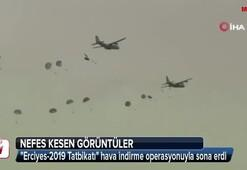 120 komando indirme yaptı Nefes kesen görüntüler...