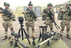 Erciyes 2019'da milli silahlar göz doldurdu