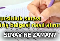 Bursluluk sınavı ne zaman Sınav giriş belgesi nasıl alınır