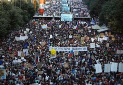 Komünizmin çöküşünden bu yana en büyük protesto gösterileri
