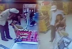 Markette iğrenç olay Gözaltına alındı