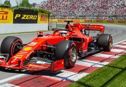Kanadada pole pozisyonu Vettelin