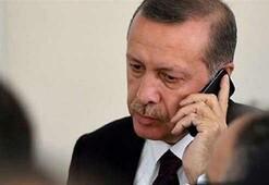 Cumhurbaşkanı Erdoğandan sürpriz telefon: Çok mutlu oldum
