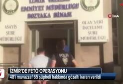 İzmirde FETÖ operasyonu