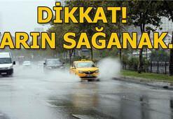 Hava durumu yarın nasıl olacak Meteoroloji açıkladı: Perşembe günü sağanak...