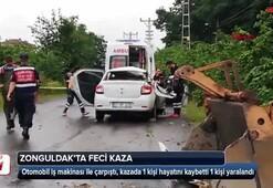 Zonguldakta trafik kazası