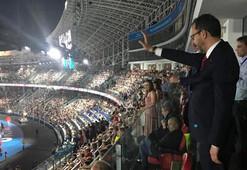 Bakan Kasapoğlu, Avrupa Oyunları Açılış Törenini izledi