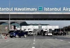 İstanbul Havalimanında seçim hareketliliği