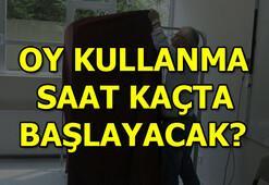 İstanbul seçimi için oy kullanma saat kaçta başlayacak