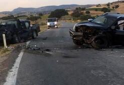 Çanakkalede trafik kazası