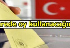 Nerede oy kullanacağım YSK seçmen sorgulama | e - Devlet giriş