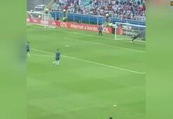 Messiden maç öncesi klas gol