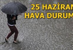 Çarşamba günü hava durumu nasıl 26 Haziran İstanbul, Ankara ve İzmir hava durumu