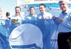 Balıkesir'in plajları Mavi Bayrak'la taçlandı